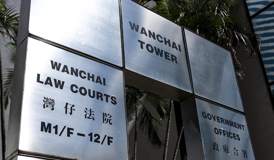 """A judge at District Court on Friday ruled Lam Yik-sing, 31, had deliberately and """"completely abandoned"""" his duties as a police officer. Photo: Warton Li"""