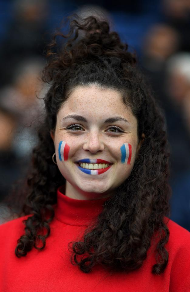 A fan looks on prior to the 2019 FIFA Women's World Cup France group A match between France and Korea Republic at Parc des Princes on June 07, 2019 in Paris, France. (Photo by Alex Caparros/FIFA via Getty Images)