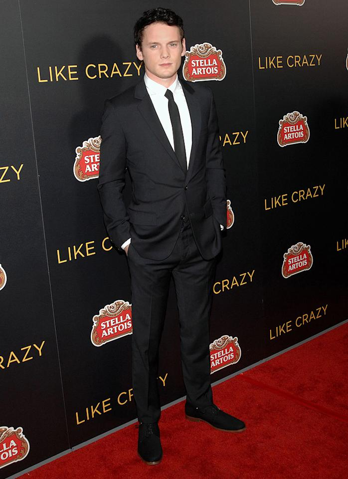 "<a href=""http://movies.yahoo.com/movie/contributor/1804848614"">Anton Yelchin</a> at the Los Angeles premiere of <a href=""http://movies.yahoo.com/movie/1810204674/info"">Like Crazy</a> on October 25, 2011."