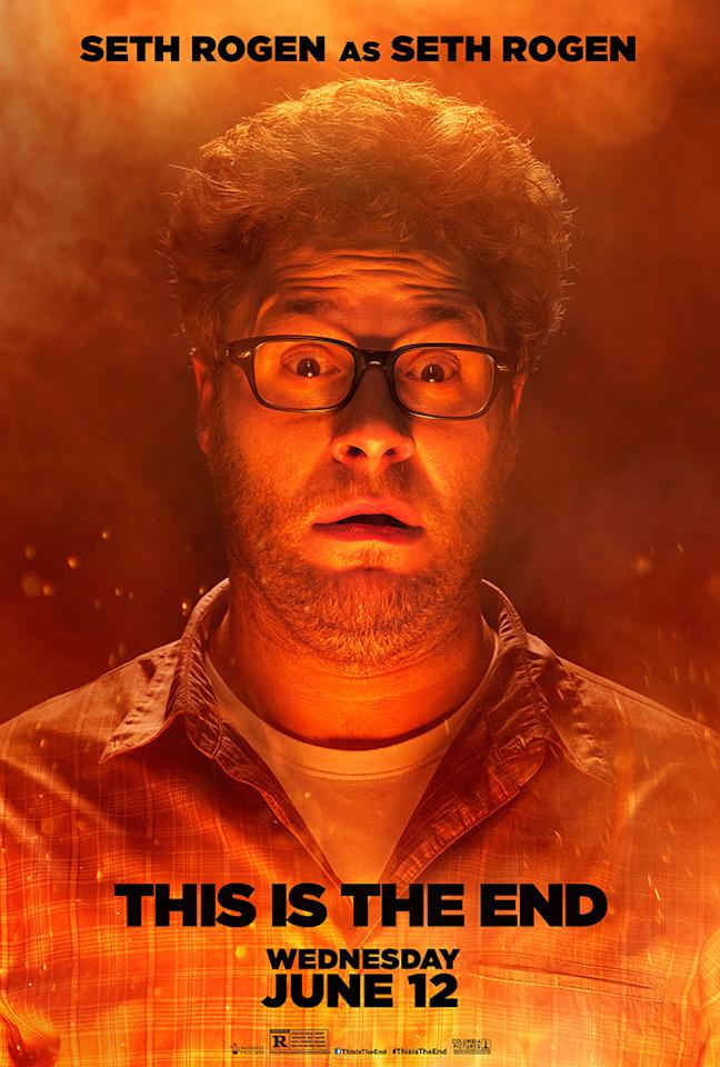 """Seth Rogen stars in Columbia Pictures' """"This Is the End"""" - 2013"""