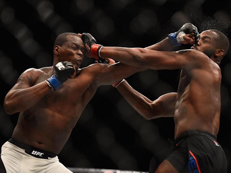 Saint Preux took Jones to five rounds last year (Getty)