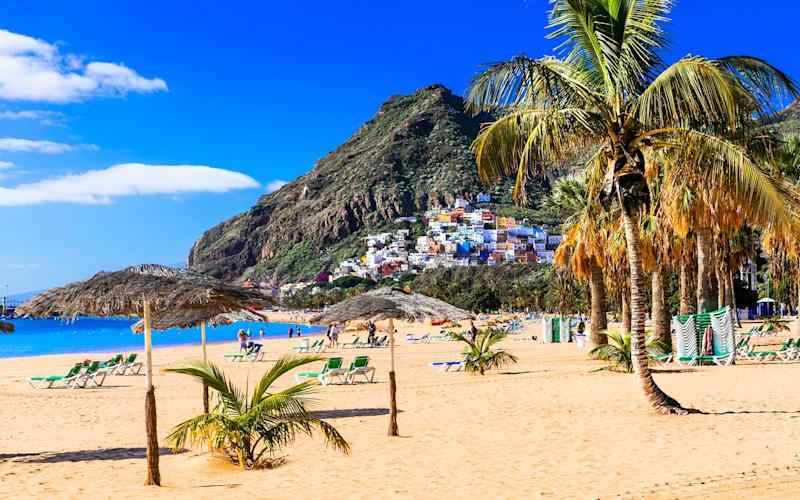 Tenerife is renowned for its beaches, pools and parties