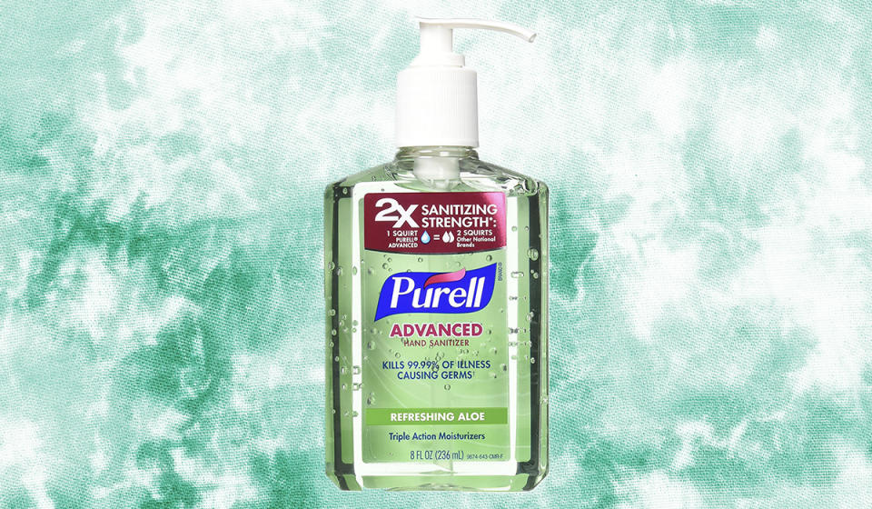 Aloe? Is it Purell you're looking for? (Photo: Amazon)