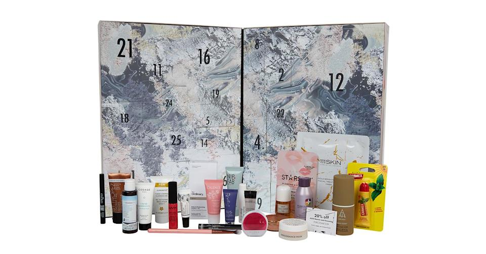 <p>This £55 advent calendar from everyone's favourite fashion stop-off is a great addition to your basket. In addition to 24 products, the calendar also boasts a jammy ASOS discount that you'll receive come Christmas Day. <em>Available at asos.com. </em> </p>