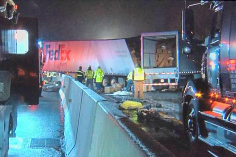 At Least 5 Dead and 60 Injured in Multi-Vehicle Crash on Pennsylvania Turnpike