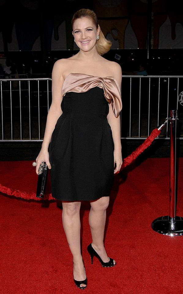 """<a href=""""http://movies.yahoo.com/movie/contributor/1800016287"""">Drew Barrymore</a> at the Los Angeles premiere of <a href=""""http://movies.yahoo.com/movie/1809932969/info"""">He's Just Not That Into You</a> - 02/02/2009"""