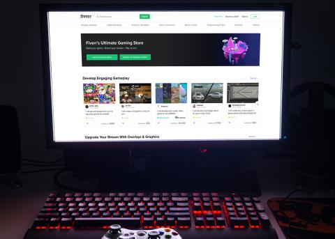 Fiverr Introduces Its First Industry Store Dedicated to Gaming - Driven by Strong Customer Demand
