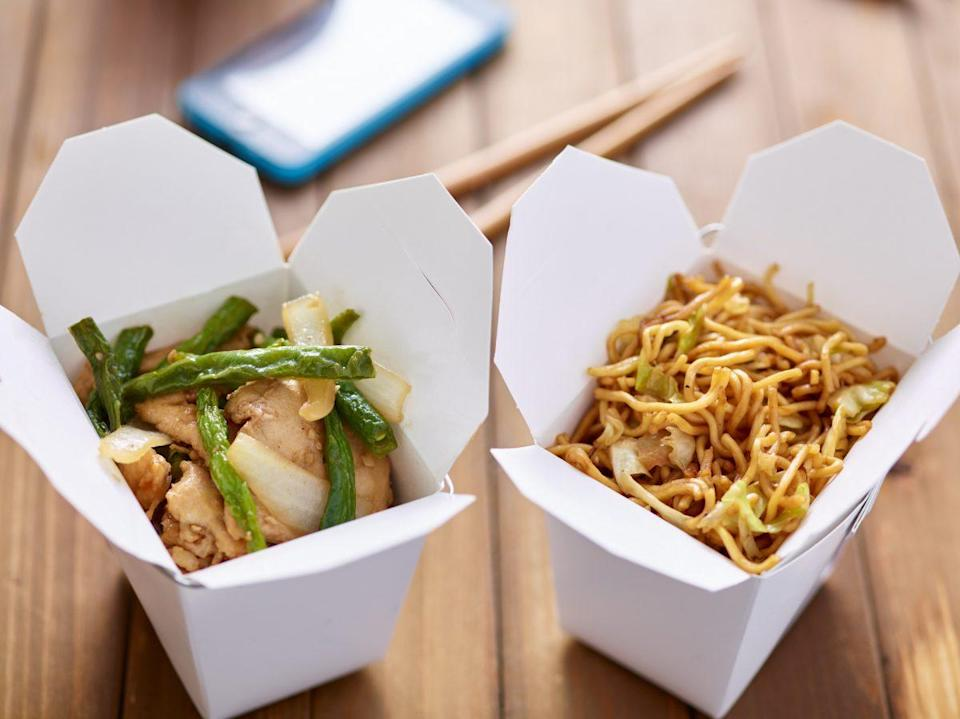 Why not eat Chinese takeaway with white rice for breakfast. [Photo credit: rez-art | Getty Images]