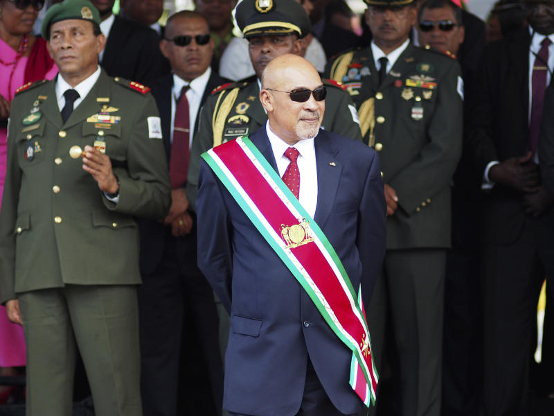 Suriname President Convicted