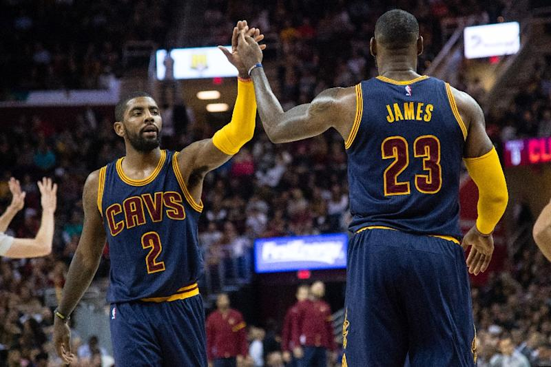 d887d2429 Kyrie Irving had 21 points and matched his career high with 12 assists