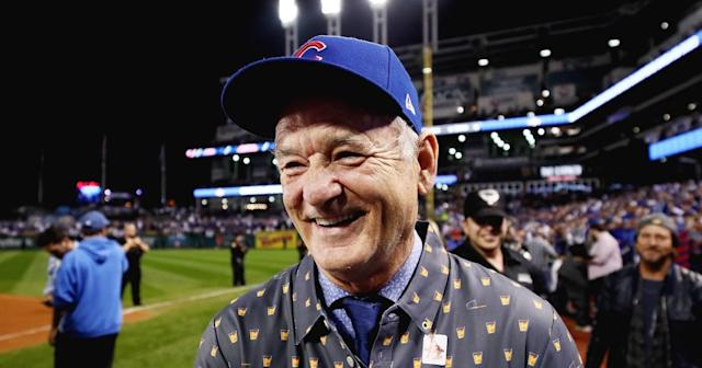 "Bill Murray in ""Extra Innings."" (Photo: Facebook)"