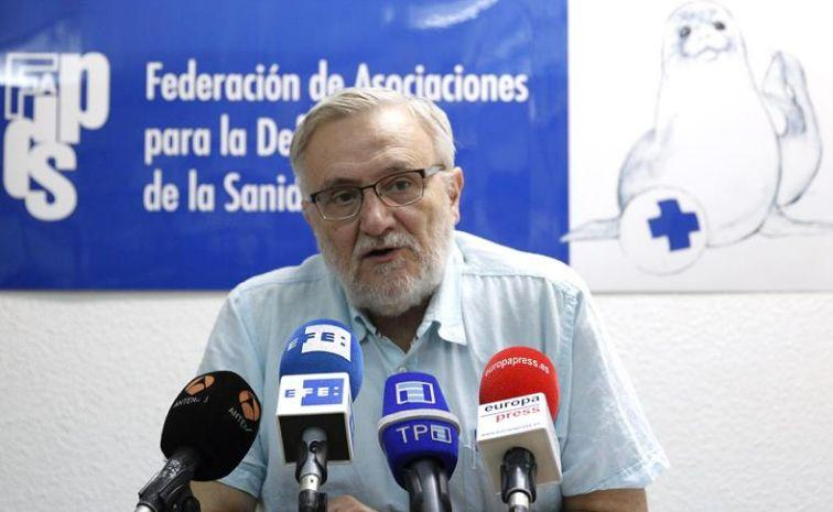 El doctor Marciano Sánchez Bayle. (Photo: EFE)