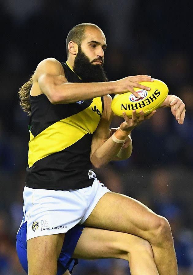 Richmond player Bachar Houli asked Waleed to vouch for his character. Source: Getty