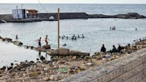 Daily discharges of untreated sewage from the capital's two million population make the Tripoli shore the most polluted section of the North African country's 1,770-kilometre coastline