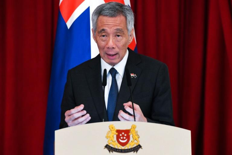 Singapore PM touts city-state as 'safe harbour'