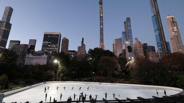 PHOTO: Wollman skating rink in Central Park, Nov. 2, 2019, in New York City. (Gary Hershorn/Corbis via Getty Images, FILE)
