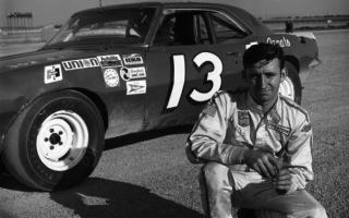 Richard Childress ran this 1968 Chevrolet Camaro in the first NASCAR race ever held at Talladega Superspeedway in 1969 and finished 23rd. (ISC Archives/CQ-Roll Call Group via Getty Images)
