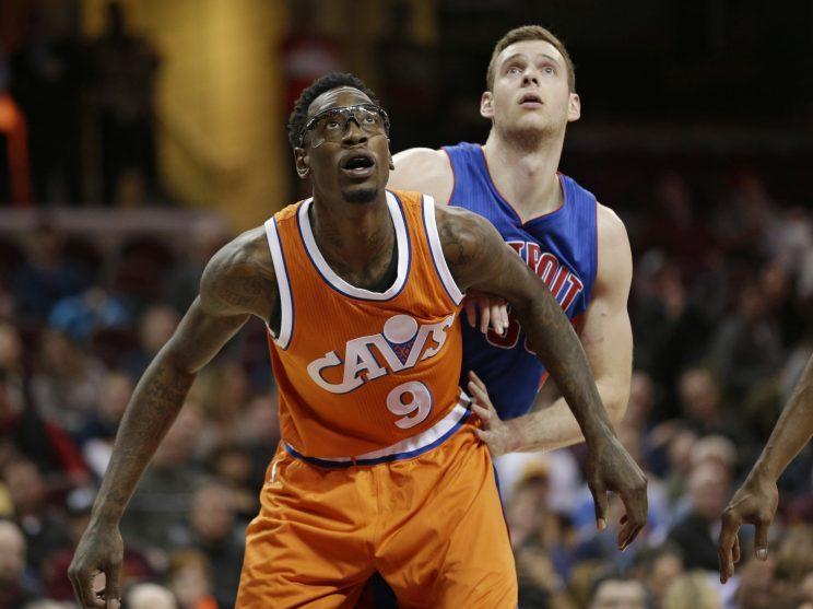 Larry Sanders will be waived by the Cavaliers ahead of the playoffs. (AP)