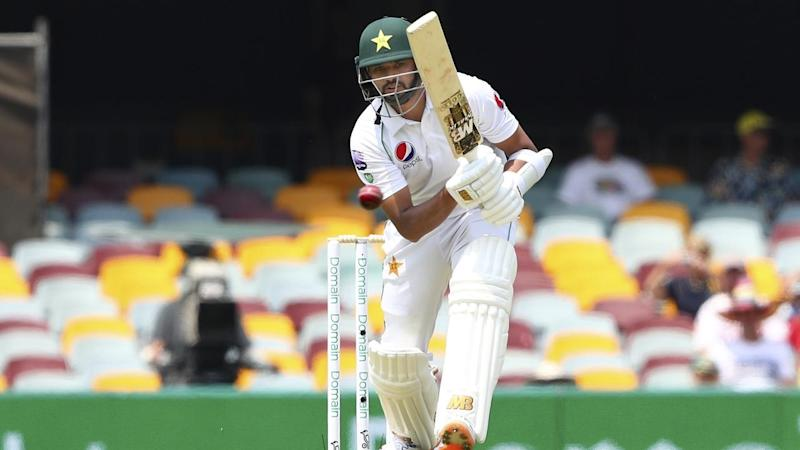Pakistan batsman Azhar Ali is on 28 after the opening session of the first Test against Australia