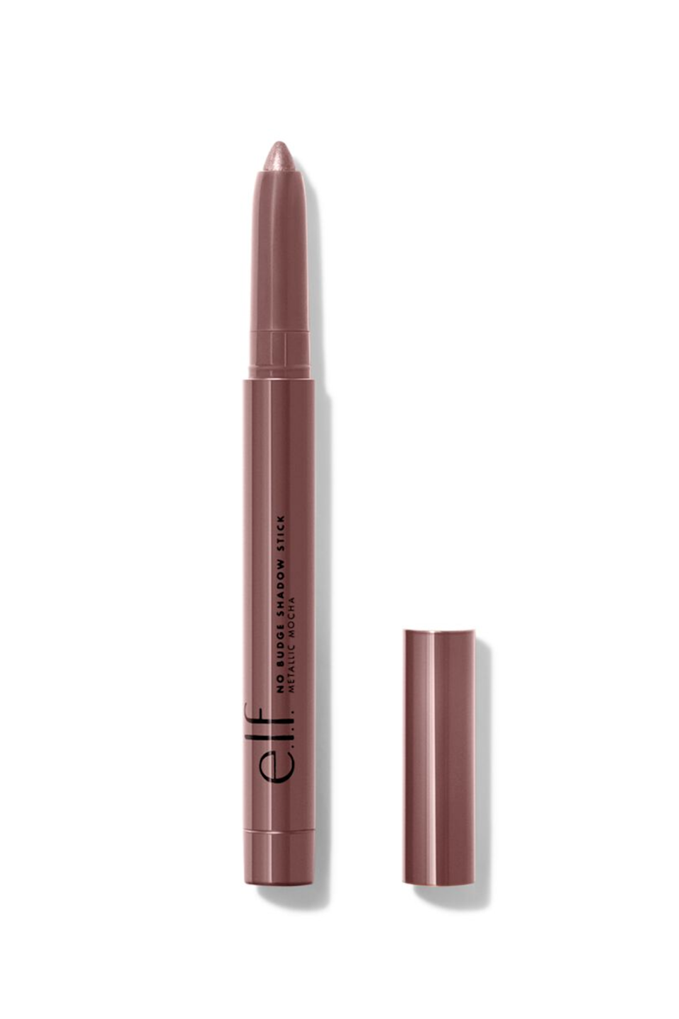 """<p><strong>e.l.f. Cosmetics</strong></p><p>ulta.com</p><p><strong>$5.00</strong></p><p><a href=""""https://go.redirectingat.com?id=74968X1596630&url=https%3A%2F%2Fwww.ulta.com%2Fp%2Fno-budge-shadow-stick-pimprod2020787&sref=https%3A%2F%2Fwww.seventeen.com%2Fbeauty%2Fmakeup-skincare%2Fg36866431%2Fbest-elf-makeup-skincare-products%2F"""" rel=""""nofollow noopener"""" target=""""_blank"""" data-ylk=""""slk:Shop Now"""" class=""""link rapid-noclick-resp"""">Shop Now</a></p><p>The product lives up to its name — the No Budge Shadow Stick will stay in place for hours, no matter where you place it. You can use it as a shadow on your lids, a liner on your lower waterline or a highlight on your cheekbones (depending on the color).</p>"""