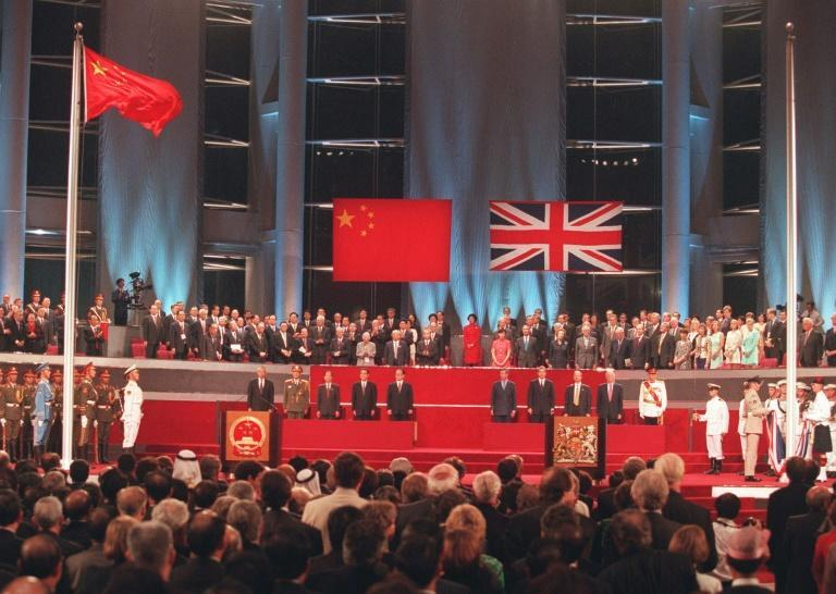 Hundreds of thousands of Hong Kongers left the city ahead of the 1997 handover of the former British colony to China