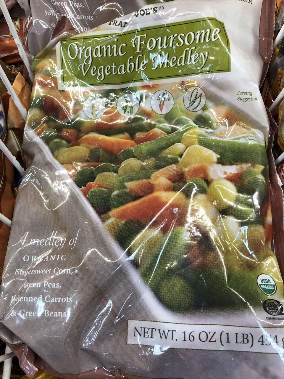 <p>No washing or cutting needed, you can do so much with these frozen veggies! Season a few bags, and they'd be a great side dish for lunches. </p>
