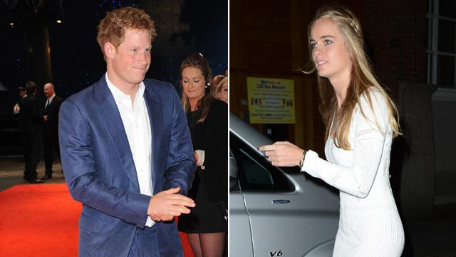 Prince Harry Spotted With Blonde Model (ABC News)