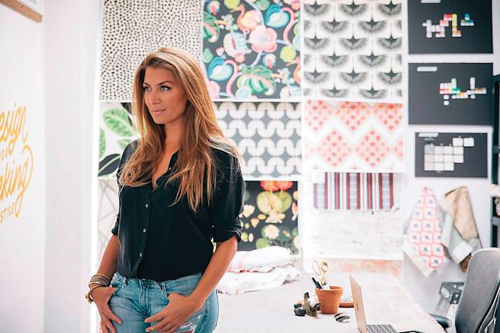 Genevieve Gorder lands in a good space after leap of faith