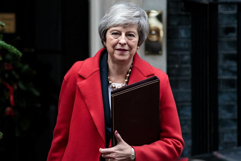 The PM is battling against fierce opposition to her Brexit deal (Getty Images)