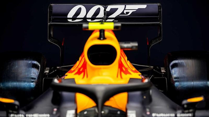 Red Bull Racing RB15 James Bond-inspired livery