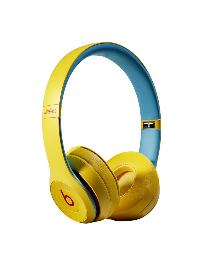 """A look, feel and sound that's bold— even if your music isn't. The fine-tuned acoustics will make any track bounce.<br> <strong><a href=""""https://www.amazon.com/Beats-Solo3-Wireless-Ear-Headphones/dp/B07SN757XP"""" rel=""""nofollow"""">BUY NOW: $200</a></strong>"""