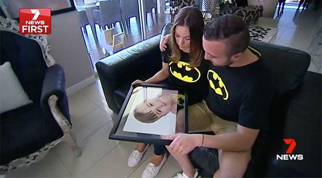 Zane's parents are mourning their little boy's death. Source: 7 News