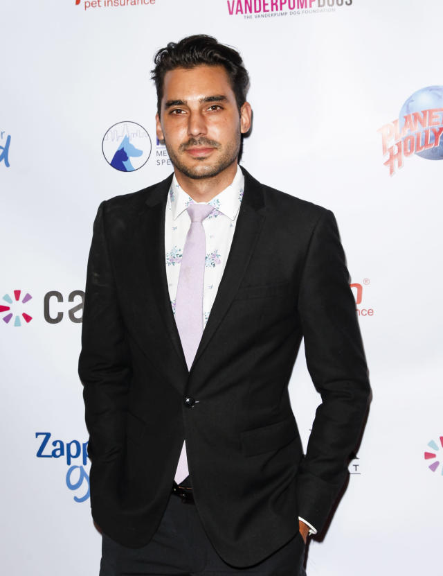 "Max Boyens, at the Vanderpump Dog Foundation Gala in November, is ""disgusted and embarrassed"" with himself after his old racist tweets are resurfaced. (Photo: Tibrina Hobson/Getty Images)"