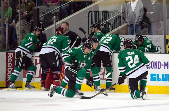Dallas Stars rookie too shaken by Rich Peverley health scare to play vs. Blues