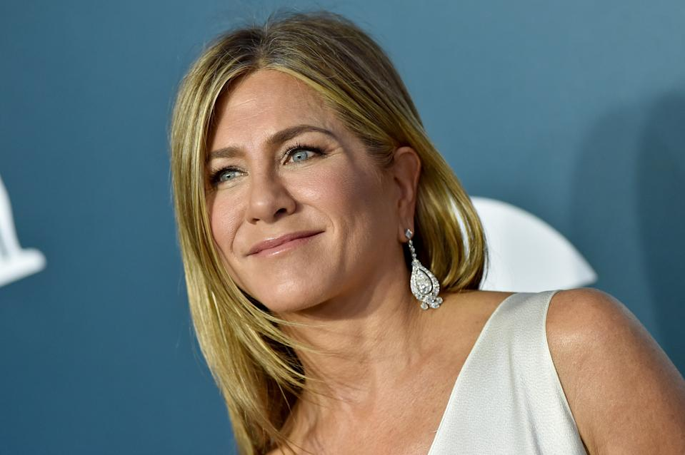 Jennifer Aniston is calling on fans to wear masks after a friend contracted COVID-19. (Photo: Axelle/Bauer-Griffin/FilmMagic)