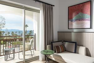 Premium sea view room with balcony at Radisson Collection Hotel Bodrum