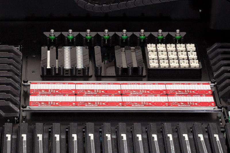 Desktop pick-and-place machine will create your own printed circuit boards
