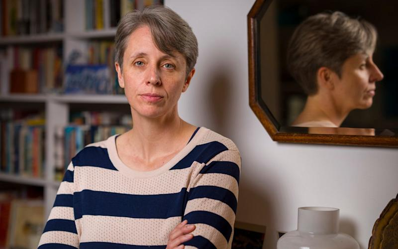 Kathleen Stock, a professor in philosophy at Sussex University, who was due to address academics there next week - Andrew Crowley