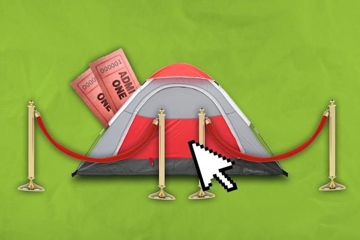 Navigating the world of campsite reservations in California.
