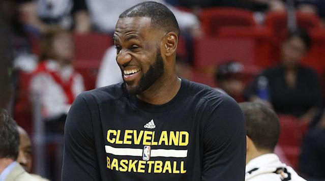 """<p>Welcome back to The Crossover's weekly social media power rankings, where we determine who won the week off the court. This week, LeBron gets the Kendrick Lamar album before all of us, Tony Romo plays basketball and Moe Harkless makes $500,000 with a perfectly-played game. We'll rank performances from best to worst. Here's how the week shook out: </p><p><strong>1. LeBron James</strong></p><p>Really tough to put anyone over LeBron here, simply because the reaction to his long Instagram story was so strong. Kendrick Lamar apparently sent him his entire album early, and not only did he show it off on Instagram to make us all mad, he actually memorized the lyrics! He tried really hard to make us all mad, you have to respect it. </p><p><strong>2. Moe Harkless</strong></p><p> <a href=""""https://www.reddit.com/r/nba/comments/643xbz/mo_money_moe_problems/?ref=share&ref_source=embed"""" rel=""""nofollow noopener"""" target=""""_blank"""" data-ylk=""""slk:Mo' Money, Moe Problems"""" class=""""link rapid-noclick-resp"""">Mo' Money, Moe Problems</a> from <a href=""""http://www.reddit.com/r/nba"""" rel=""""nofollow noopener"""" target=""""_blank"""" data-ylk=""""slk:nba"""" class=""""link rapid-noclick-resp"""">nba</a></p><p>His three-point percentage was so marginally above the 35% required to make his performance bonus that he actually didn't attempt any threes at all in his final game of the season. Bravo!</p><p>Dinner's on him.</p><p><strong>3. Hassan Whiteside</strong></p><p>This cat filter has got to go. </p><p><strong>4. Steph Curry</strong></p><p>Kevin Durant's biggest fan is very excited for his return! Oh, wait, it's just Steph. </p><p><strong>5. Tony Romo</strong></p><p><strong></strong>Who knew Tony Romo could hoop? </p><p><strong>6. DeMarcus Cousins</strong></p><p>You're damn right, LaVar Ball <em>is</em> a legend. </p><p><strong>7. Klay Thompson</strong></p><p> <a href=""""https://www.reddit.com/r/nba/comments/642odn/leandro_and_klay_taking_a_nice_pic_wait_klay_your/?ref=share&ref_source=embed"""" rel=""""nofollow noopener"""" targ"""
