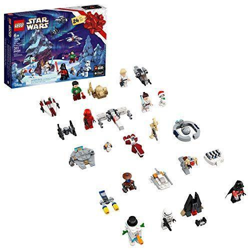 "<p><strong>LEGO</strong></p><p>amazon.com</p><p><strong>$44.90</strong></p><p><a href=""https://www.amazon.com/dp/B085B24B72?tag=syn-yahoo-20&ascsubtag=%5Bartid%7C10055.g.28939299%5Bsrc%7Cyahoo-us"" rel=""nofollow noopener"" target=""_blank"" data-ylk=""slk:Shop Now"" class=""link rapid-noclick-resp"">Shop Now</a></p><p>Yes, that is Poe Dameron in an Ugly Christmas Sweater, throwing a snowball at Darth Vader (also in an Ugly Christmas Sweater). Star Wars fans look forward to the LEGO advent calendar every year, since it has a mix of buildable ships and holiday-specific minifigs. If Star Wars isn't your kids' fave, though, LEGO also has advent calendars for <a href=""https://go.redirectingat.com?id=74968X1596630&url=https%3A%2F%2Fwww.lego.com%2Fen-us%2Fproduct%2Fadvent-calendar-60268&sref=https%3A%2F%2Fwww.goodhousekeeping.com%2Fchildrens-products%2Ftoy-reviews%2Fg28939299%2Ftoy-advent-calendars-for-kids%2F"" rel=""nofollow noopener"" target=""_blank"" data-ylk=""slk:LEGO City"" class=""link rapid-noclick-resp"">LEGO City</a>, <a href=""https://go.redirectingat.com?id=74968X1596630&url=https%3A%2F%2Fwww.lego.com%2Fen-us%2Fproduct%2Flego-friends-advent-calendar-41420&sref=https%3A%2F%2Fwww.goodhousekeeping.com%2Fchildrens-products%2Ftoy-reviews%2Fg28939299%2Ftoy-advent-calendars-for-kids%2F"" rel=""nofollow noopener"" target=""_blank"" data-ylk=""slk:LEGO friends"" class=""link rapid-noclick-resp"">LEGO friends</a> and <a href=""https://www.amazon.com/LEGO-Potter-Calendar-75964-Building/dp/B07NRSY3RW?tag=syn-yahoo-20&ascsubtag=%5Bartid%7C10055.g.28939299%5Bsrc%7Cyahoo-us"" rel=""nofollow noopener"" target=""_blank"" data-ylk=""slk:Harry Potter"" class=""link rapid-noclick-resp"">Harry Potter</a>. <em>Ages 6+</em></p><p><strong>RELATED:</strong> <a href=""https://www.goodhousekeeping.com/holidays/gift-ideas/g29624061/star-wars-gifts/"" rel=""nofollow noopener"" target=""_blank"" data-ylk=""slk:The Coolest Star Wars Gifts for Kids and Adults"" class=""link rapid-noclick-resp"">The Coolest Star Wars Gifts for Kids and Adults</a><br></p>"