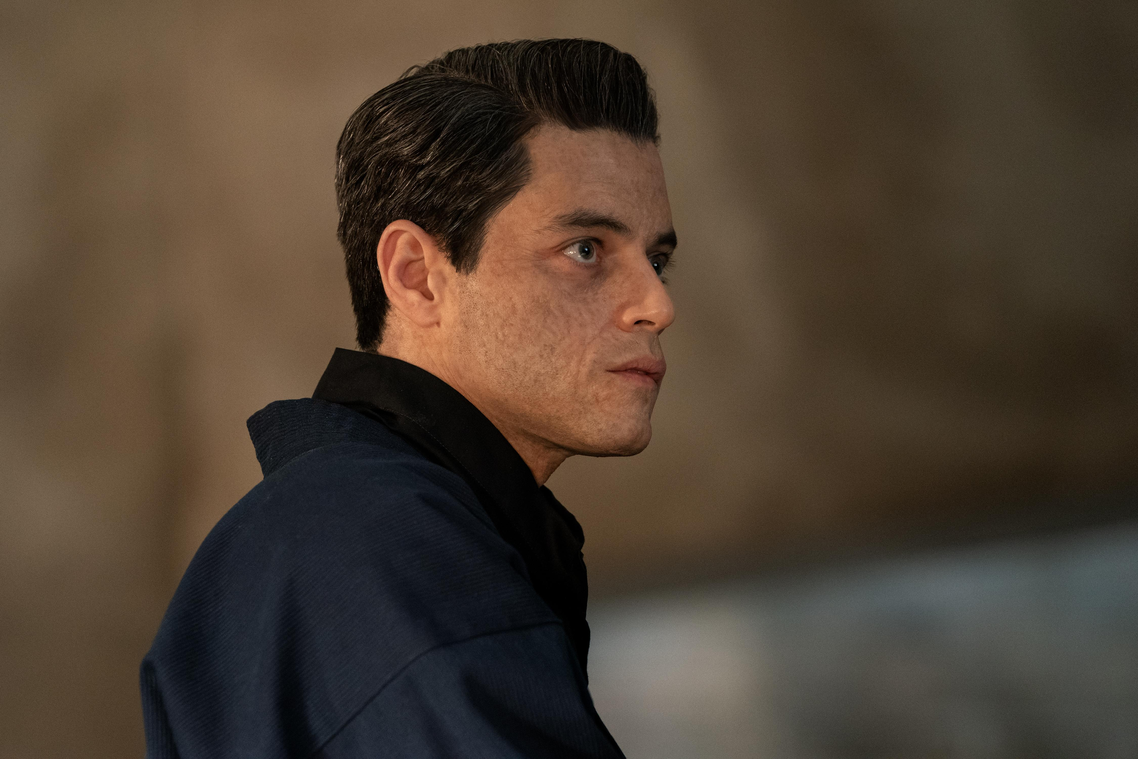 Rami Malek as Safin in 'No Time to Die' (Photo: Nicola Dove/DANJAQ, LLC AND MGM.)