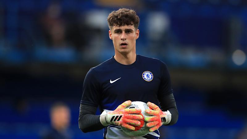 Kepa is our 'keeper and I'm happy with him - Lampard