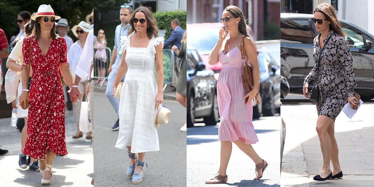 "<p>Pippa Middleton has <a rel=""nofollow"" href=""https://www.townandcountrymag.com/style/fashion-trends/g9178600/pippa-middleton-style/"">certainly had her fair share of fashionable moments</a>, and since announcing her pregnancy, her style hasn't wavered a bit. Here are the mom-to-be's best looks-baby bump and all.</p>"