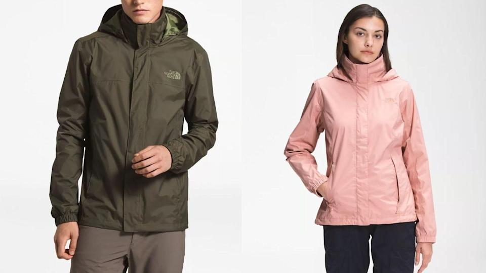 A water-resistant jacket is useful for sudden weather changes.