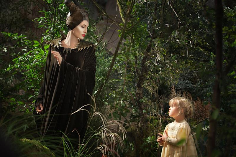 Image result for angelina and vivienne scene in maleficent