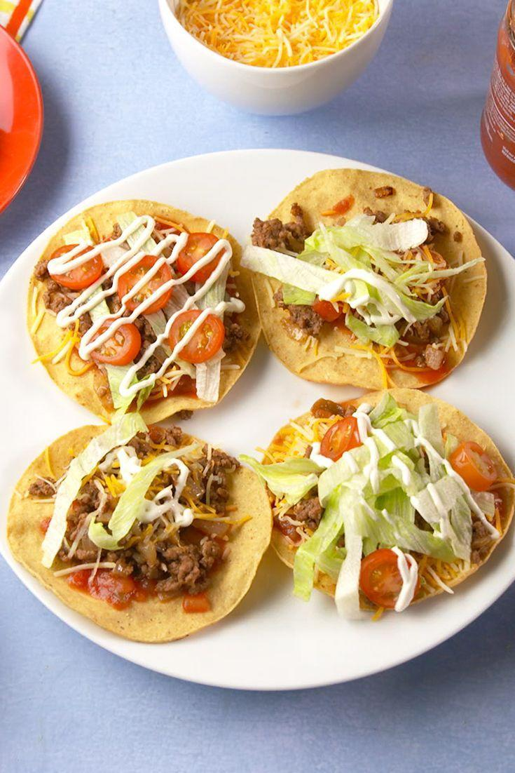 "<p>Tacos and pizzas are meant to be together.</p><p>Get the recipe from <a href=""https://www.delish.com/cooking/recipe-ideas/recipes/a56051/taco-pizzas-recipe/"" rel=""nofollow noopener"" target=""_blank"" data-ylk=""slk:Delish"" class=""link rapid-noclick-resp"">Delish</a>. </p>"