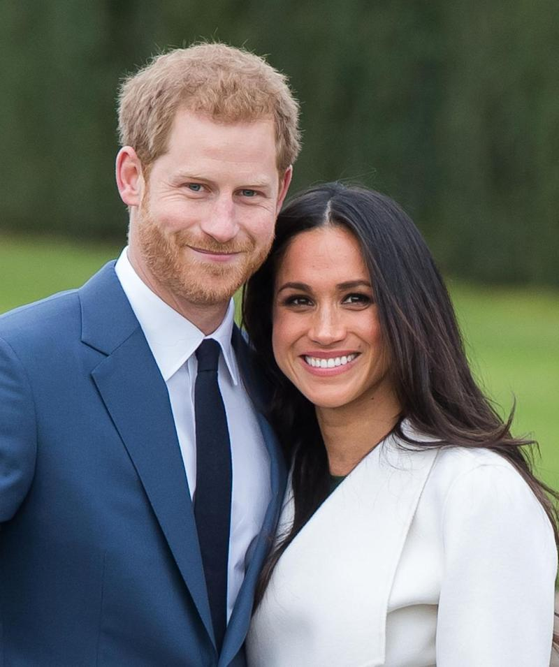 Friends say Harry's determined to quit for Meghan. Photo: Getty