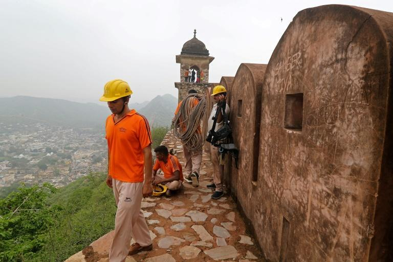 Several people at Amer Fort were among nearly 80 killed by lightning strikes during India's monsoon season (AFP/-)
