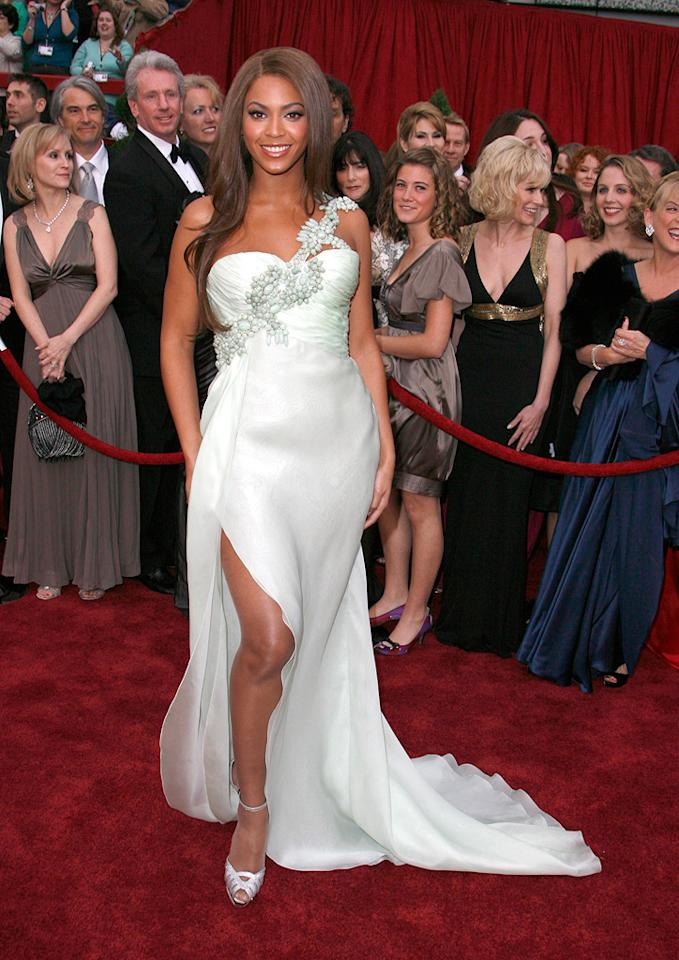 WORST: Beyonce Knowles at the 79th Annual Academy Awards - 02/25/2007